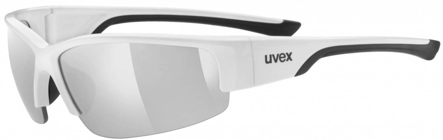 white mat red Uvex Sportstyle 215 Sportbrille
