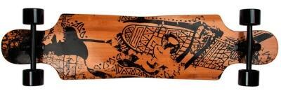 Area Tribal Curves Longboard